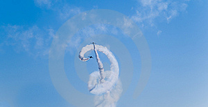 Stunt Flying Royalty Free Stock Image - Image: 13684496