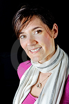 Beautiful Fashionable Woman Portrait Stock Images - Image: 13684694