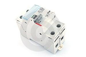 Automatic Circuit Breaker. Stock Image - Image: 13685691