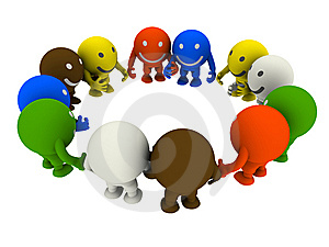 Group Of Smileys Royalty Free Stock Image - Image: 13686226