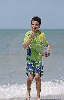 Water Photographer Stock Image - Image: 13686841