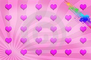 Love Background , Illustration Royalty Free Stock Photo - Image: 13687015