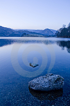 Grasmere At Dusk Royalty Free Stock Images - Image: 13687029