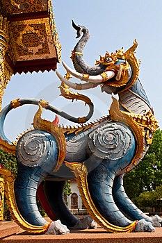 Lion Myth Stock Photography - Image: 13687222