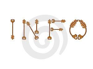 Info Keys Stock Photos - Image: 13687503