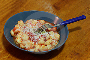 Gnocchi With Tomatoes Sauce Stock Image - Image: 13688701