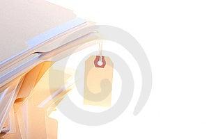 Office Folders Stock Photo - Image: 13688750