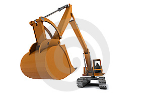 Digger Royalty Free Stock Photo - Image: 13690095