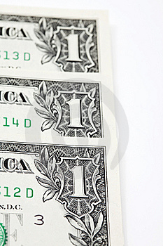 Dollars Close Up Royalty Free Stock Images - Image: 13690449