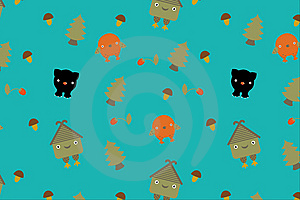 Fairytale Pattern. Vector Stock Photography - Image: 13690742