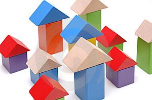 Wooden Toy Blocks Stock Photography - Image: 13693162