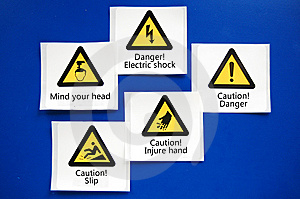 Alarm Cards Royalty Free Stock Images - Image: 13693649