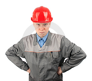 Construction Worker Royalty Free Stock Images - Image: 13694179