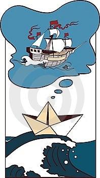 The Ship Dreams Stock Photos - Image: 13694823