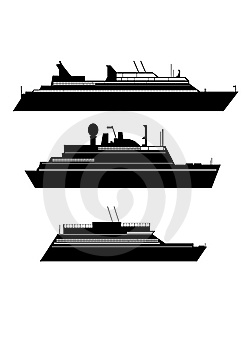 Ships Royalty Free Stock Photo - Image: 13696095