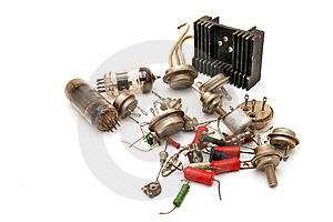 Radio Components Stock Image - Image: 13699171
