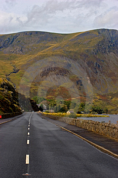 Road To Snowdonia Royalty Free Stock Photo - Image: 1370435