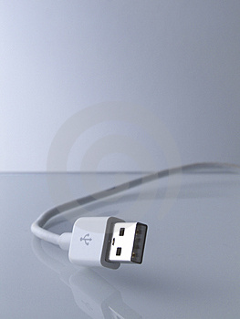 Usb Cable Stock Image - Image: 1378031