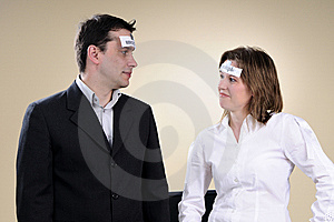 Unemployed People Fighting With Crisis Royalty Free Stock Photo - Image: 13700955