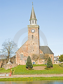 Old High Church Inverness In Spring Time. Royalty Free Stock Photo - Image: 13701955