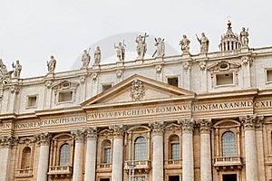 St Peters In Vatican Stock Photos - Image: 13702693