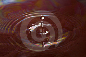 Red Water Drop Royalty Free Stock Photos - Image: 13703298