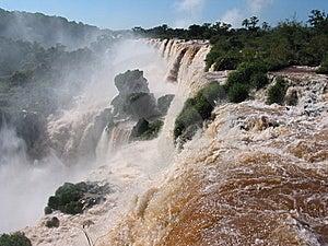 Iguassu Waterfalls Stock Image - Image: 13703981