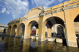 Public Loundry In Antigua Royalty Free Stock Photos - Image: 13704708