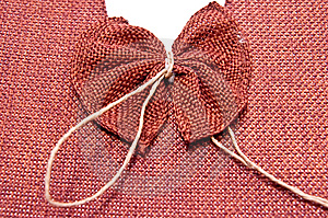 Bow From Sack Stock Images - Image: 13707974