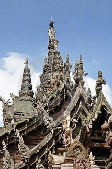 Pattaya, Thailand: Sanctuary Of Truth Royalty Free Stock Photos - Image: 13708278