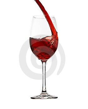 Pouring Red Wine Stock Image - Image: 13708331
