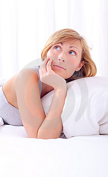 Bed Woman Stock Photography - Image: 13710502