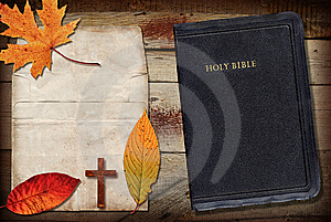 Bible Collage Royalty Free Stock Photography - Image: 13712217
