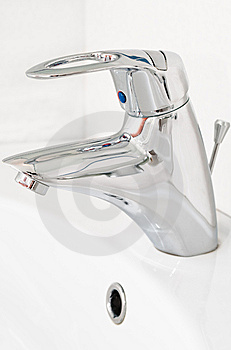 Chrome Faucet Stock Photos - Image: 13713983