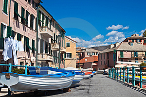 Genoa Picturesque Royalty Free Stock Image - Image: 13715126