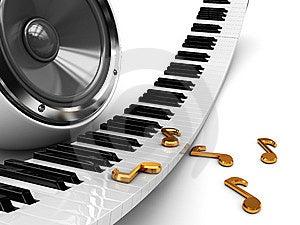 Music Background Stock Image - Image: 13716311