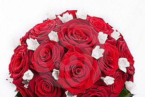 花束婚礼 图库摄影 - 图片: 13717442