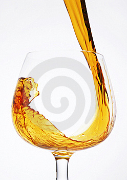 Pour A Glass Of Cognac Stock Images - Image: 13718434