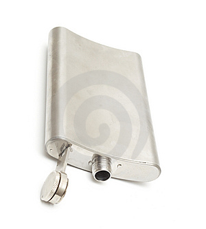 Metal Flask Royalty Free Stock Photos - Image: 13720968