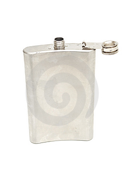 Metal Flask Stock Photography - Image: 13721482