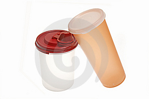 Portable Plastic Cup Stock Images - Image: 13725754