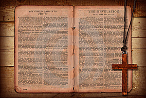 Bible Collage Royalty Free Stock Image - Image: 13726016