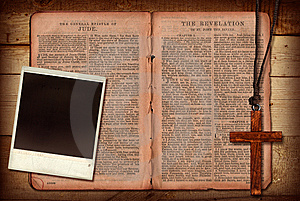Bible Collage Royalty Free Stock Photography - Image: 13726087