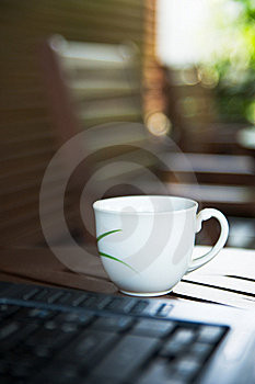 Notebook And Coffee Royalty Free Stock Image - Image: 13726546