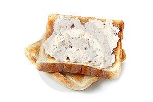 Mayonnaise Tuna Bread Stock Photography - Image: 13727592