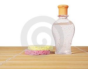 Cosmetic Bottle Stock Image - Image: 13727631