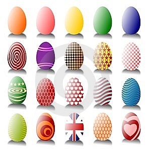 Lots Of Easter Eggs Royalty Free Stock Photography - Image: 13729337