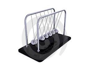 Newton's Cradle Stock Photo - Image: 13734960