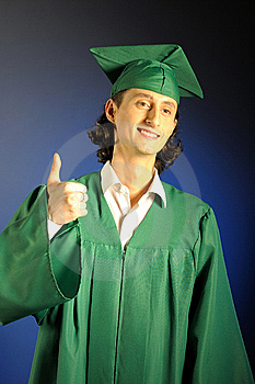 Portrait Of A Succesful Man On His Graduation Day Royalty Free Stock Photo - Image: 13735445