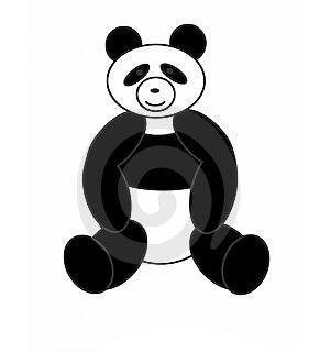 Bear A Panda Royalty Free Stock Photos - Image: 13737298